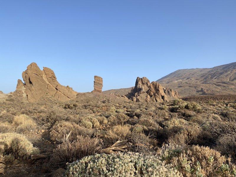 Blick in die Roques de Garcia der Canadas del Teide