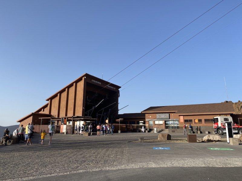 Talstation Teleferico del Teide auf Teneriffa