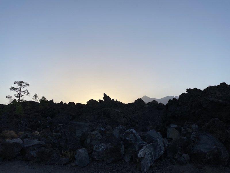 Aussichtspunkt bei Chio auf Teneriffa