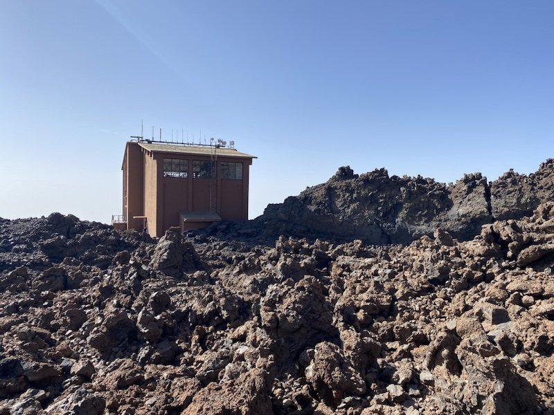 Bergstation Teleferico del Teide auf Teneriffa