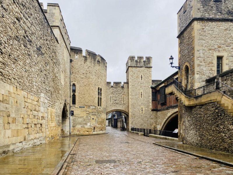Besuch im Tower of London: Gebäude