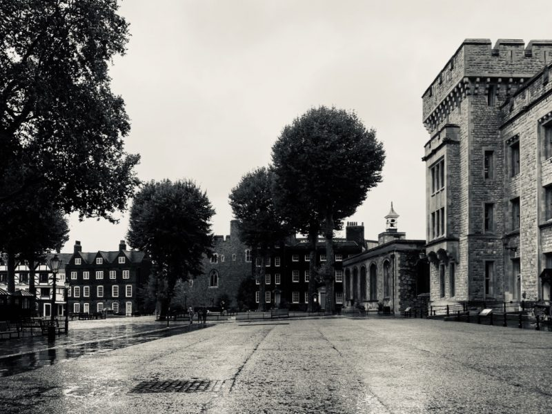 Gebäude im Tower of London