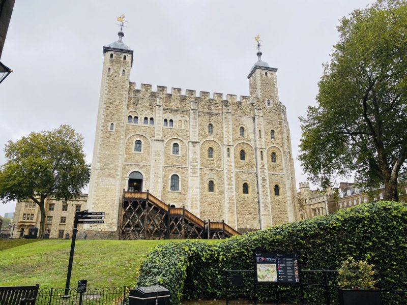Besuch im Tower of London: White Tower