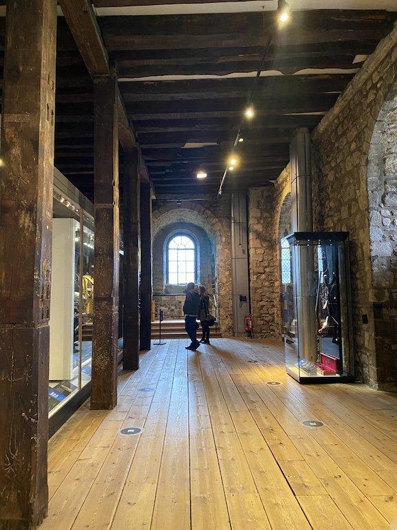 Im White Tower: Armouries Ausstellung