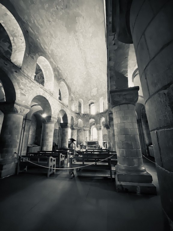 In der Kapelle des White Tower in London
