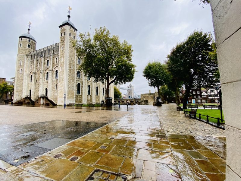 Besuch im Tower of London: White Tower und