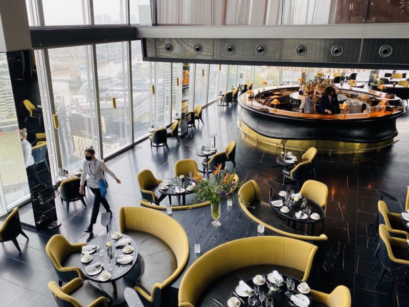 Brunch im Aqua Restaurant im The Shard