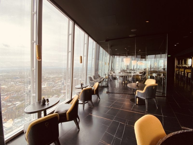 Im Aqua Restaurant im The Shard