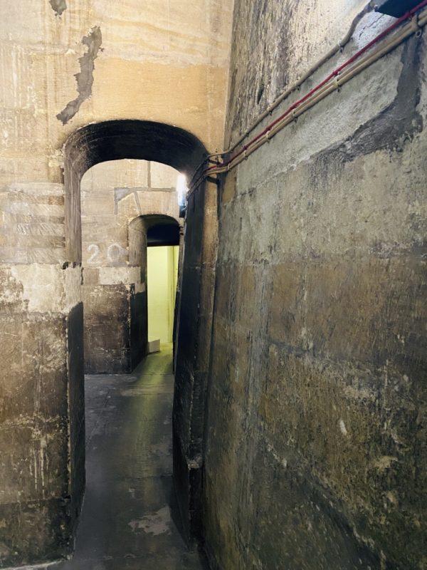 St. Paul's Kathedrale Treppen und Gang hoch zur Kuppel
