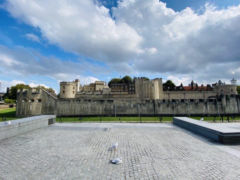 Blick auf den Tower of London