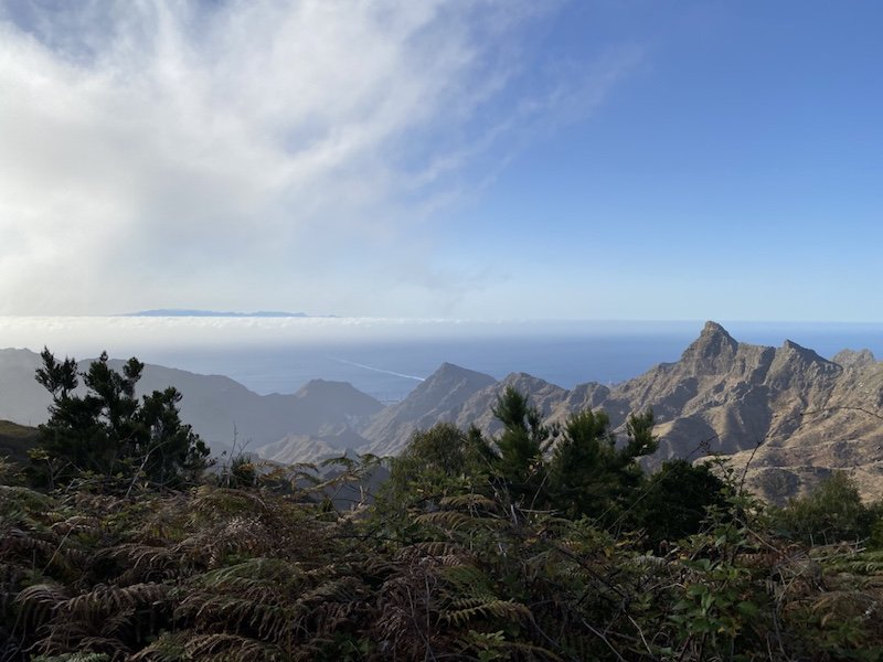 Aussicht und Sicht im Anaga Gebirge