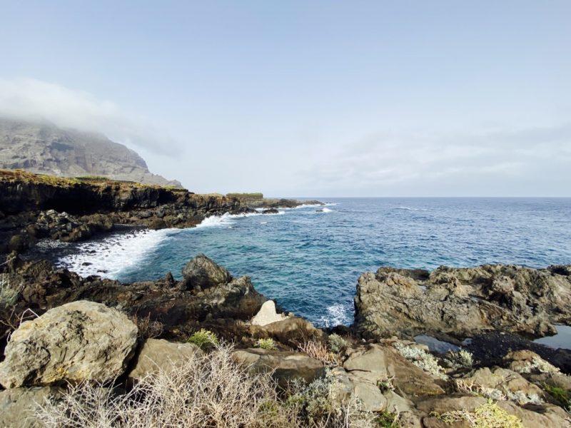 Atlantik und Küste bei Buenavista del Norte