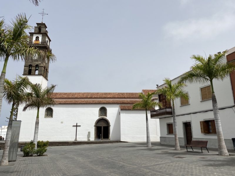Kirche in Buenavista del Norte auf Teneriffa