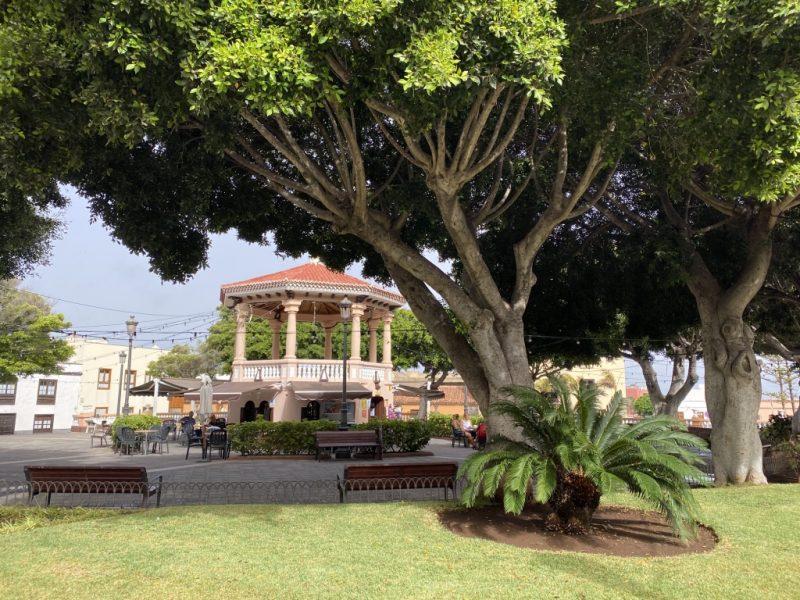Park in Buenavista del Norte auf Teneriffa