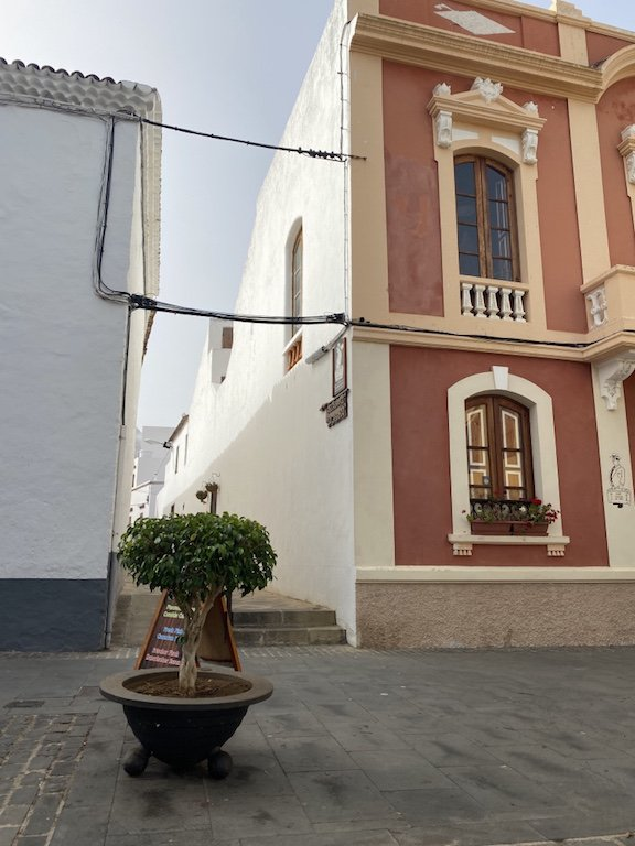 Häuser in Buenavista del Norte auf Teneriffa