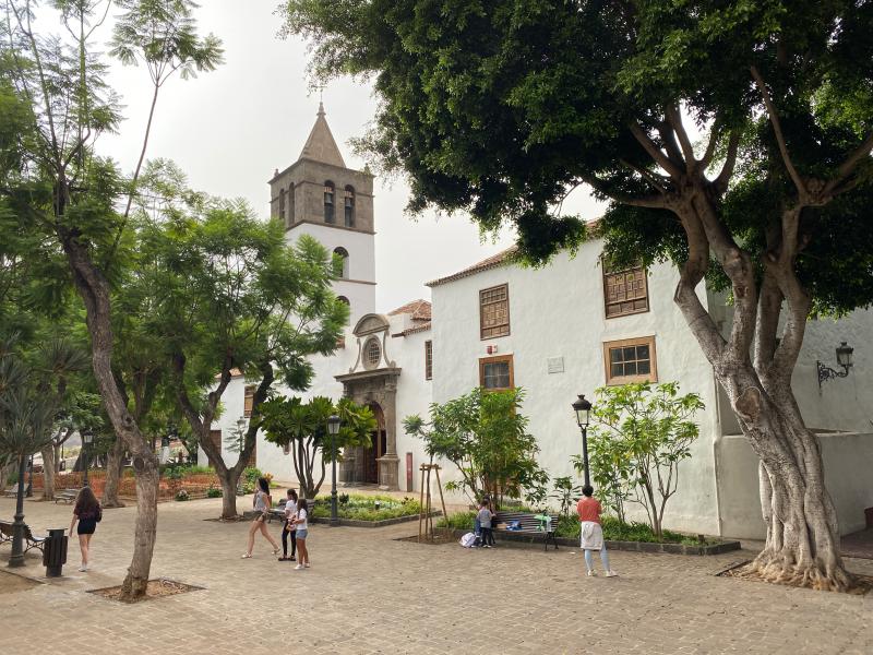 Dorfplatz in Icod de los Vinos