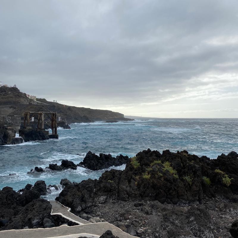Naturpools in Garachico auf Teneriffa
