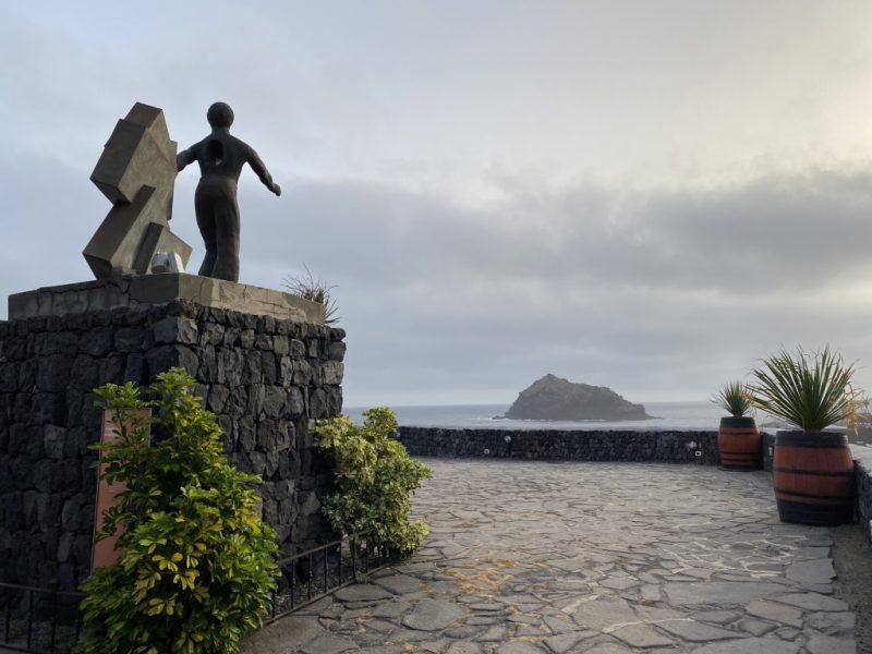 Denkmal Emigrante in Garachico auf Teneriffa