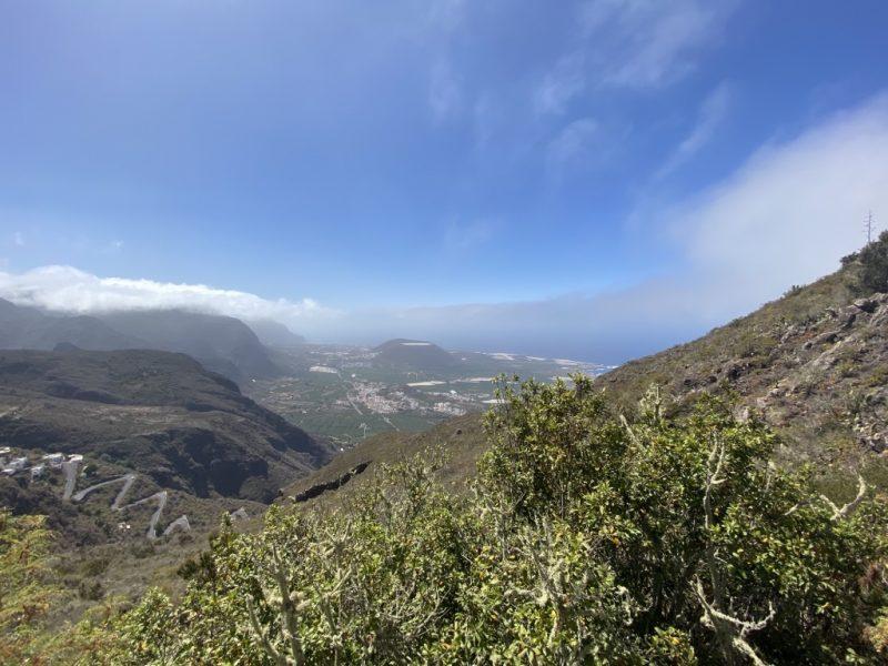 Aussicht Richtung Buenavista auf Teneriffa