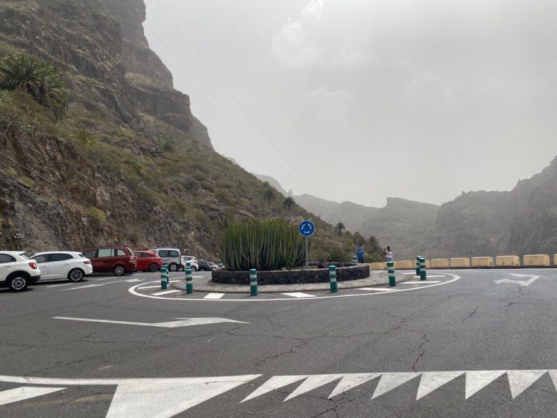 Strasse TF-436 in Masca auf Teneriffa