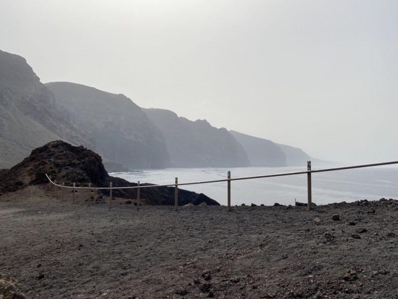 Klippen Los Gigantes bei Punta de Teno