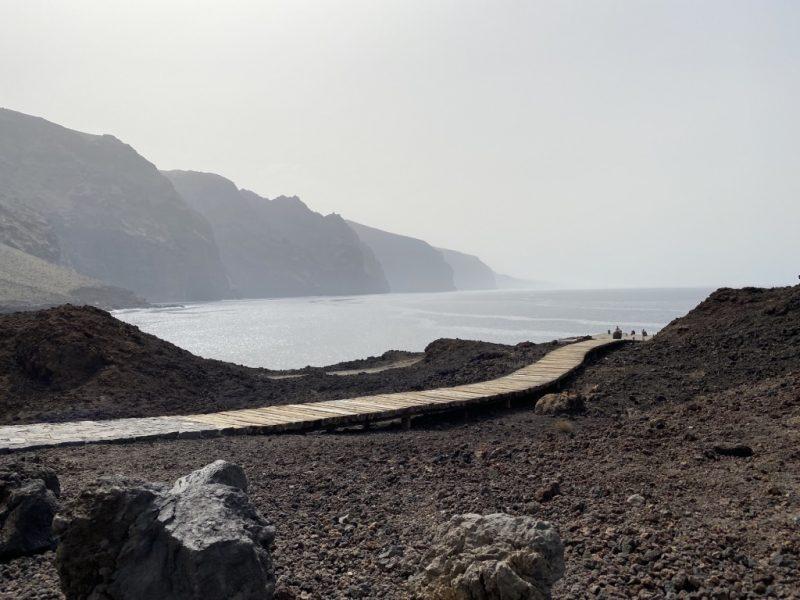 Sicht und Steg bei Punta de Teno