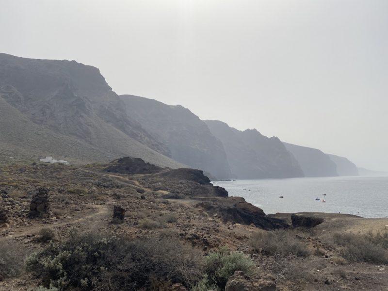 Los Gigantes Klippen bei Punta de Teno