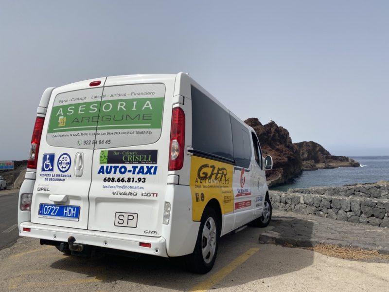 Auto bei Punta de Teno