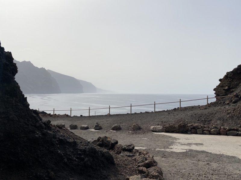 Sicht auf Los Gigantes bei Punta de Teno