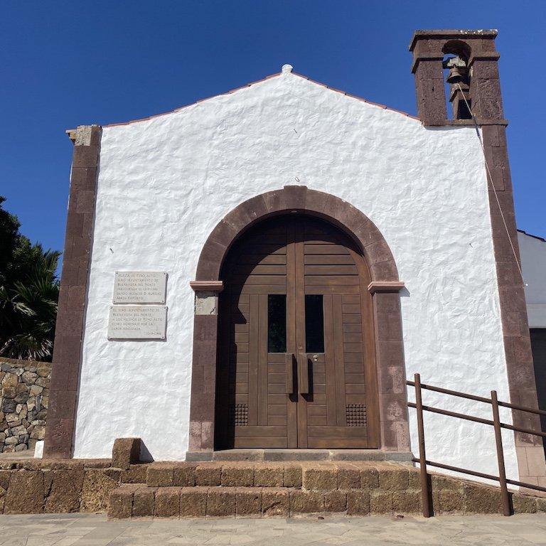 Die Kirche vom Weiler Teno Alto