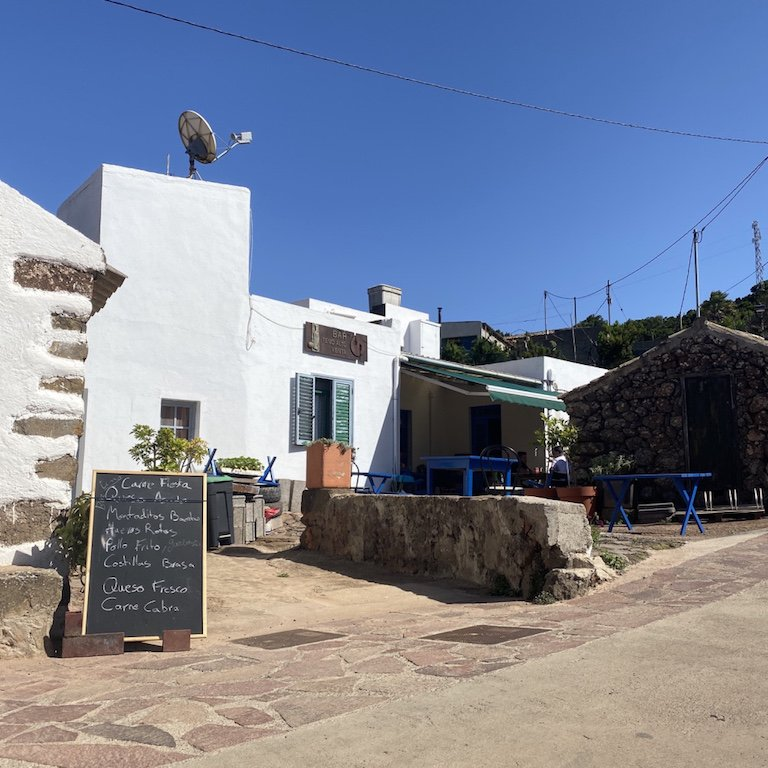 Bar im Weiler Teno Alto