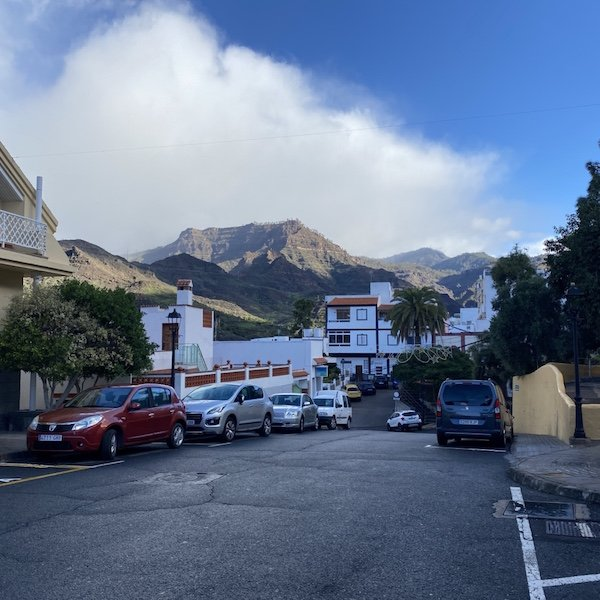 Im Ort Mogan auf Gran Canaria