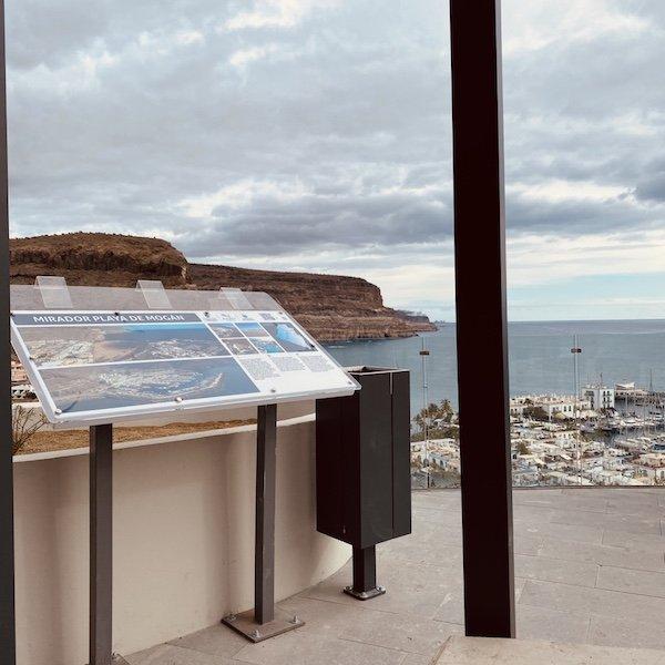 Am Mirardor überhalb von Puerto de Mogan