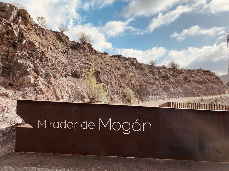 Berglandschaft bei Mirardor Mogan im Westen der Insel Gran Canaria