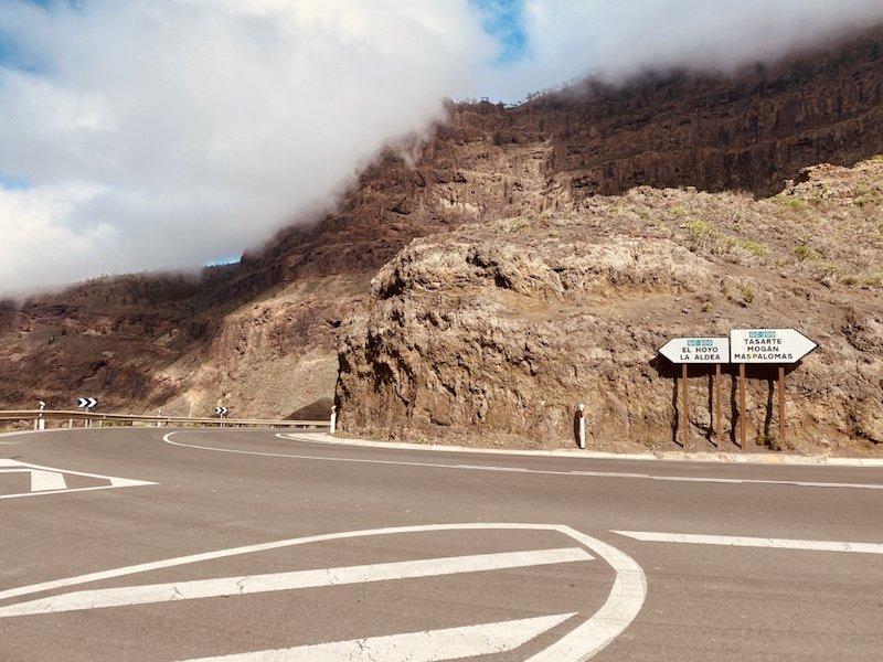 Strasse GC200 auf Gran Canaria