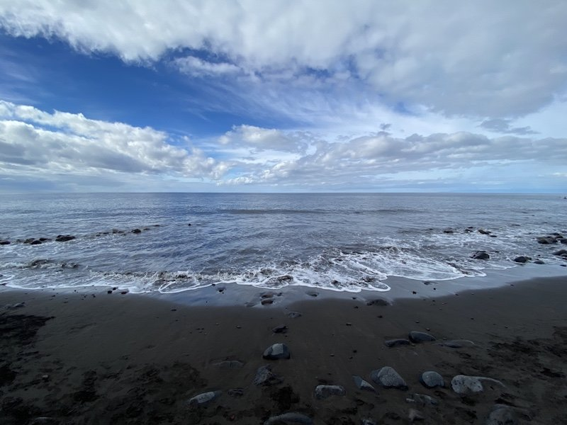 Strand bei Playa de Tasarte auf Gran Canaria