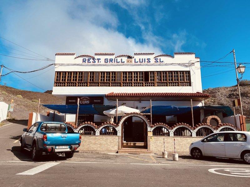 Restaurant bei Puerto de la Aldea auf Gran Canaria