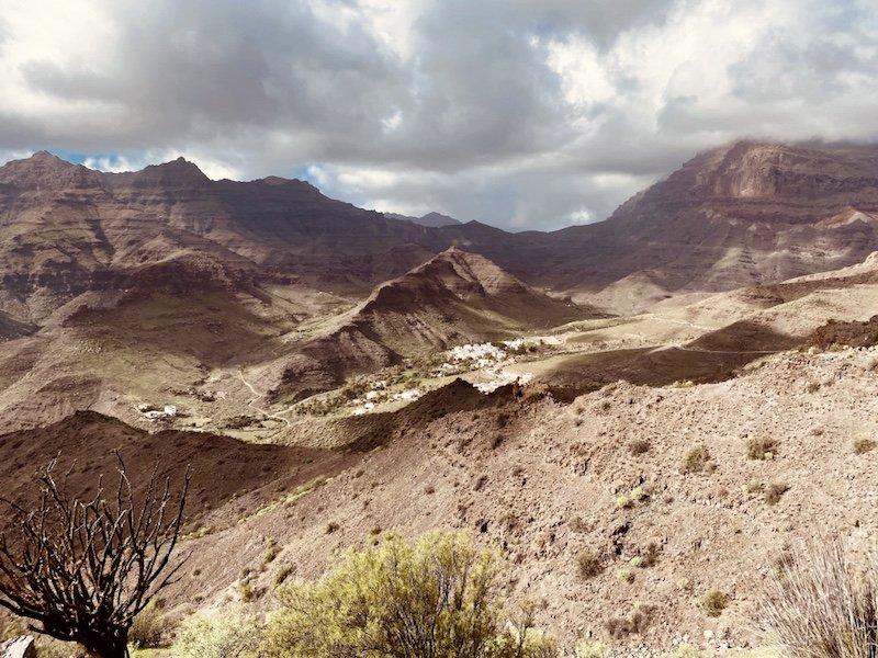 Berglandschaft im Westen der Insel Gran Canaria