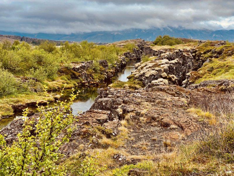 Der Golden Circle in Island - Silfra Spalte in Thingvellir