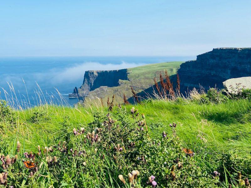 Sicht auf Cliffs of Moher