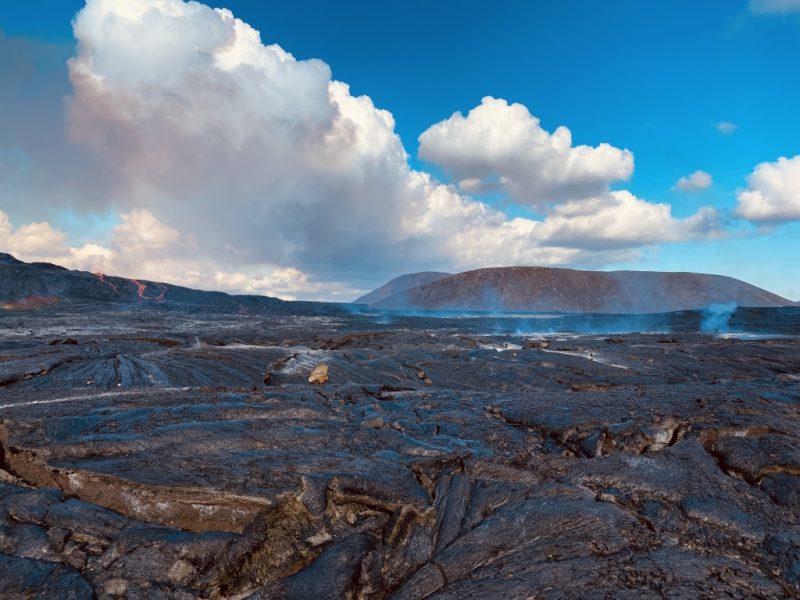 Westisland Roadtrip - Wanderung zum Geldingadalir Vulkan